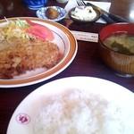 レストラン四季 - 四季ポークランチ☆630円(2013/11)