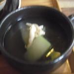 アンジュール - とうがんとささみのスープ