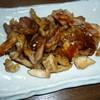 鶏日和 - 料理写真:日本三大焼鳥 の一つ 今治焼鳥 名物の皮焼き です!