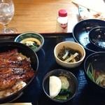 三河屋 - うな重 松(2,990円)
