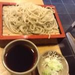 志奈乃 - 料理写真:せいろそば(ピンぼけです、すみません)、こんな感じということで