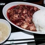22578631 - 陳麻婆豆腐丼800円。