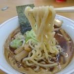 龍横健 - 麺ビロ太い麺!