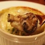 エクスキ - 牡蠣としらすのグラタン ゆず胡椒風味