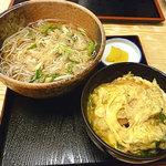 平野町 入福 - ミニ親子丼セット 900円