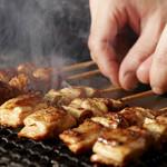 串焼き おんば - 【鶏ねぎま】串焼き各種100円~