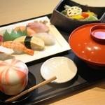 酒遊旬彩 千のすし - ランチ:和みセット 1180円