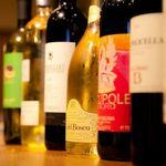 イル・ピアーノ - ワインも豊富に取りそろえております。