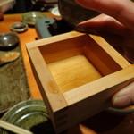 蕎麦 酒肴 京鴨 椿 - 升酒 \550