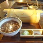 浅見茶屋  - 肉汁釜揚げうどん