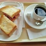 ドトールコーヒーショップ - 朝カフェBセット\380