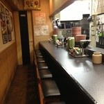 長浜ラーメン とみ吉 - 店内です