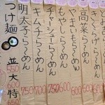 22587347 - メニュー①