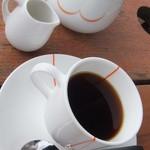 キャスロン - ランチセットの食後のコーヒー