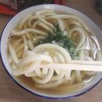 お食事処 美杉 - 麺リフトアップ。太いです。