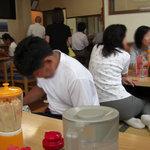 塩山館食堂 - 昼時は混んでます