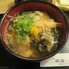 そば処 磯路 - 料理写真:特製磯路そば(800円)天ぷら・あげ・こぶ・玉子入り