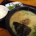 テール屋 - テール麺ランチセット650円