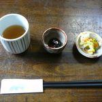 本場讃岐うどん むら泉 - お通し♫2013/11