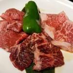 焼肉 迅 - 和牛焼肉盛合せ