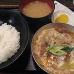 ぶあいそう - カツ丼 550円