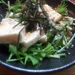 チャオチャオ - スパーフードドレッシングだから植物栄養素豊富!!超ヘルシー豆腐サラダ ¥290