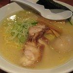 古寿茂 - 鶏白湯らーめん(塩)