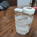旭軒 - 宴会ですでにかなり飲んでたんでここでは焼酎で乾杯です。