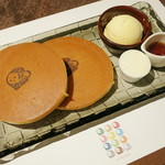 22596206 - よーじや特製ホットケーキ(\850、2013年11月)