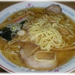 太郎亭 - 豚骨毛湯スープの中華そば