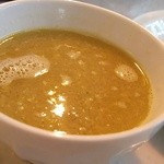 22598070 - ランチについてくる豆スープ
