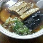 拉麺たいぢ - めんま、チャーシュー、煮干スープがしっかり