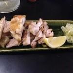 22599755 - 地鶏の塩焼き(柚子胡椒付き)