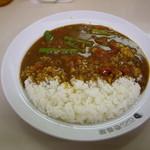 カレーハウスCoCo壱番屋 - OptioA30:夏限定「アスパラとトマト」カレー