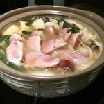 石慶 - カモ鍋