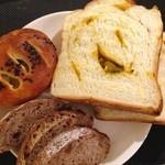 ゆっとまにぃ - スイートポテトパン・かぼちゃ食パン・天然酵母いちじくパン