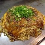 のんのん - 肉玉そばW