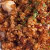 千葉勝山産 活〆真蛸の炊き込みご飯(パプリカ風味)