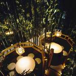 九州黒太鼓 - 竹に囲まれた個室空間で優雅なひと時を