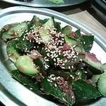 焼鶏 炭吉 - もろきゅう
