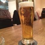 風泉 - 本日はビールセットです。炭水化物ダイエット中!