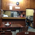 メルシー - 2013年11月中旬。店内。
