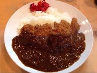 とんかつ鈴本 - 「かつカレー」1050円