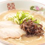 ヒノマル食堂 - 博多屋台の豚骨ラーメン