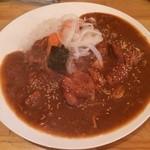 辛口伽麗レテテ - 大辛チキンカレー650円