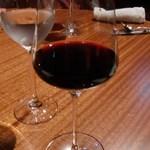 肉匠なか田 - 渋めのワインで乾杯