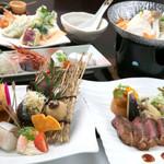 和風厨房 りゅう扇 - 豪華な和食で今宵も宴会!