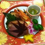 栂の季 - 料理写真:【夕食】前菜