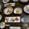 鷹の湯温泉 - 料理写真:夕食