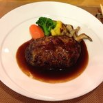 Bistro Fujiyama - 国産ビーフハンバーグの赤ワインソース
